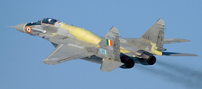 MiG-29UPG of India air force
